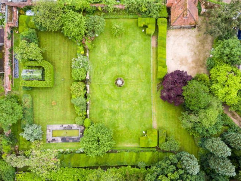 Drones and Landscape Gardening Projects