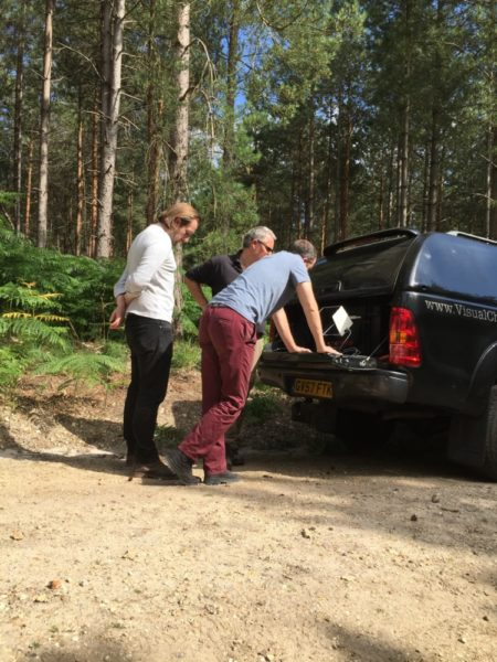 Yateley Heath BBC One Filming One Show