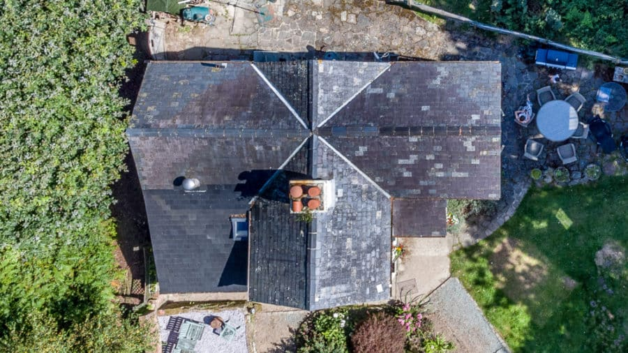 Thermal Roof Inspections in UK via Drone