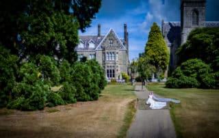 Ashdown Park Hotel Drone Wedding Photography