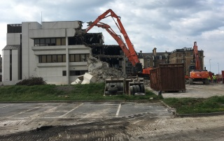 Drone Photography at Demolition Company Marketing South East