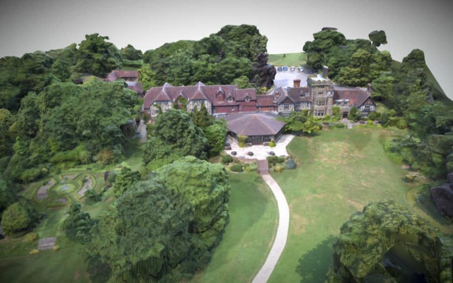 Ravenswood Rear View Hotel 3D Modelling Sussex Surrey Kent