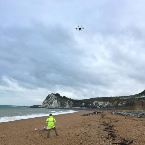 BBC One Show Cinematography Dover Kent Filming Aerial Drone