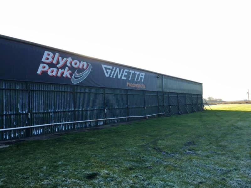 Drone Aerial Filming at Blyton Park BBC