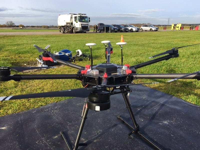 Drone Aerial Filming at Blyton Park BBC