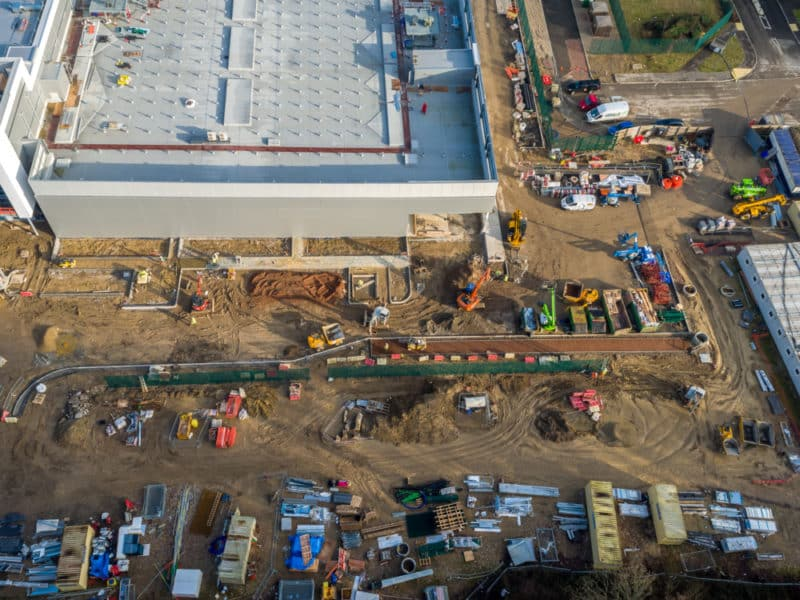 construction and aerial surveying
