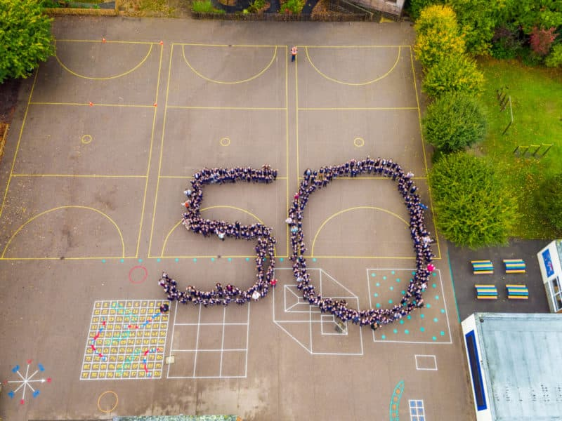 Southway Junior School Burgess Hill, 50th Anniversary