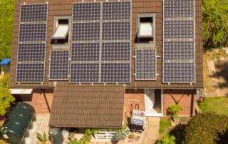 Domestic solar panel inspections