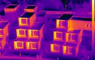 Housing Pods thermal inspection