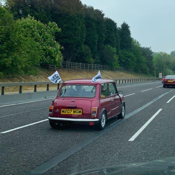 Mini London to Brighton Rally