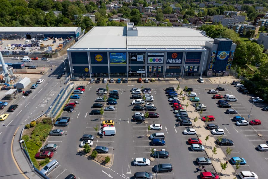 Commercial retail park portfolio management