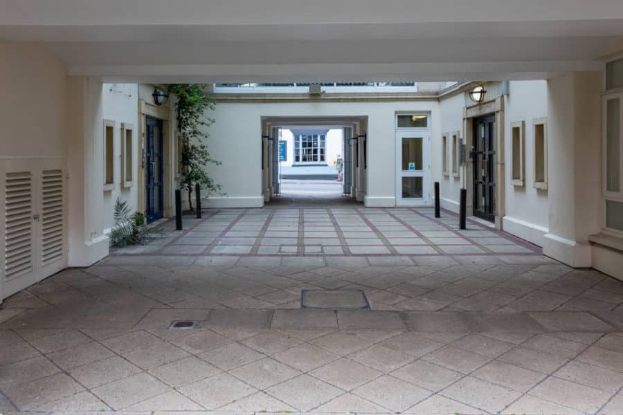 Ground based commercial property photography