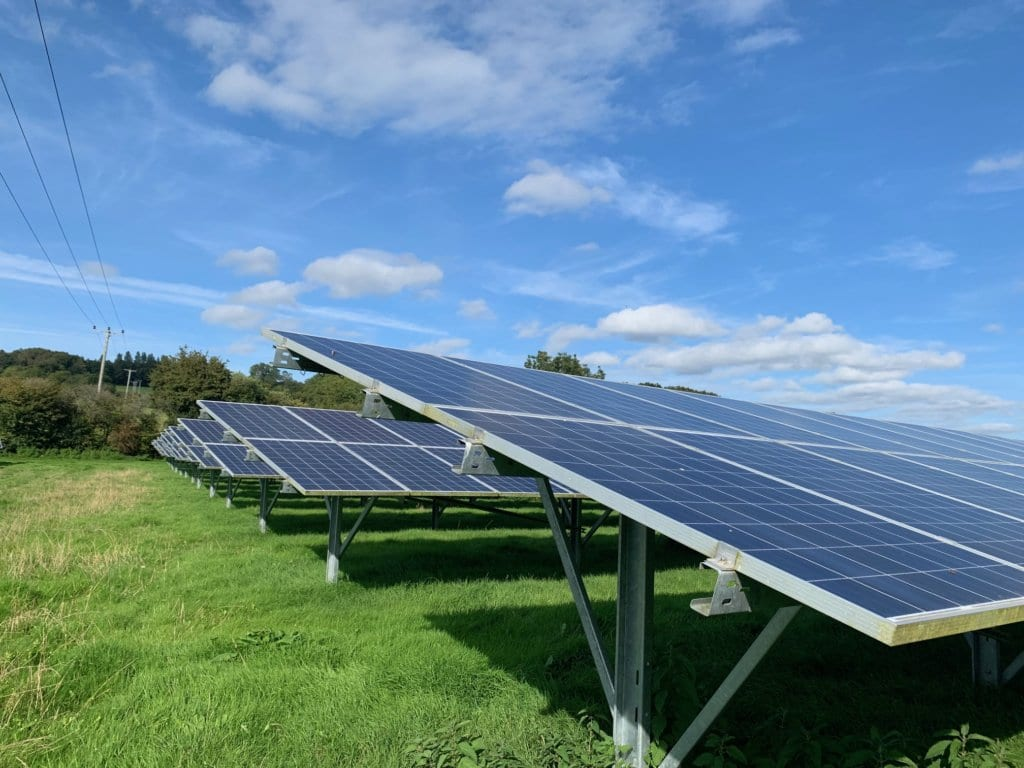 Drone Solar Farm Thermal Inspection UK
