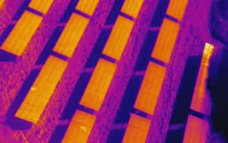 Drone Thermal Imaging and Solar Panels, UK