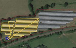 Drone Survey Solar Farm Project Planning