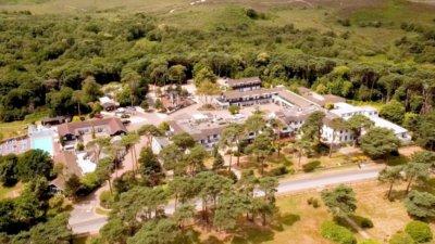 Hotel Marketing Drone Cinematography UK