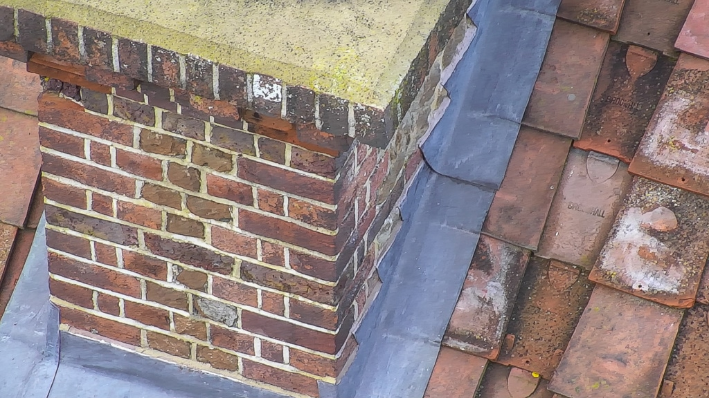 chimney inspection by mast