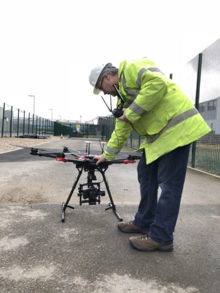 Drone National Account Solutions throughout the UK and Ireland