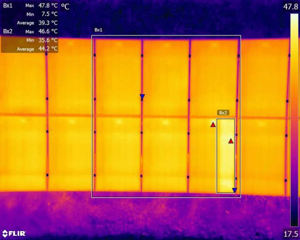 Solar Farm Thermal Survey RGB Support