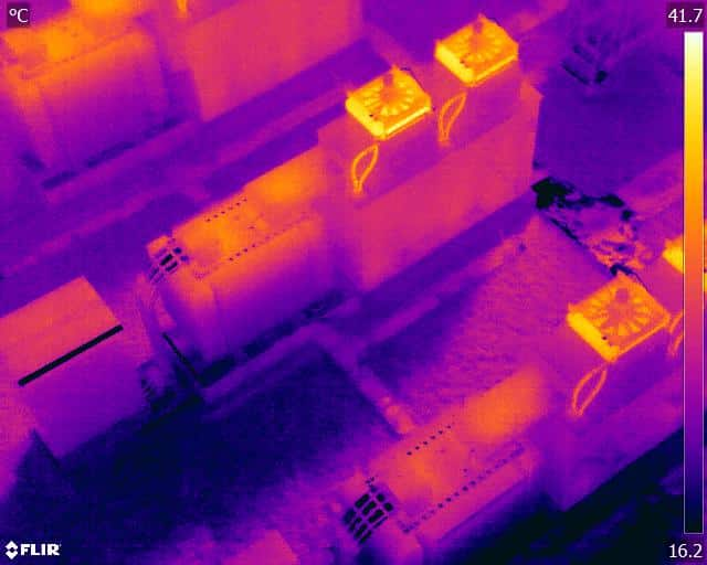 Electrical Plant Generator Thermal Infrared Inspection