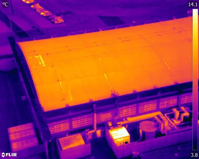 Reduced distances for drone thermal infrared operations with CAA OSC