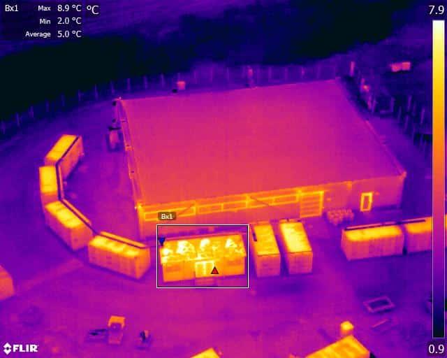 Plant Generator Thermal Image
