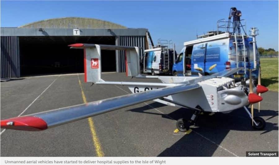 Solent Transport already supplying Isle of Wight via drone