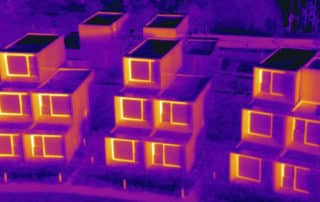 Housing pod thermal inspection