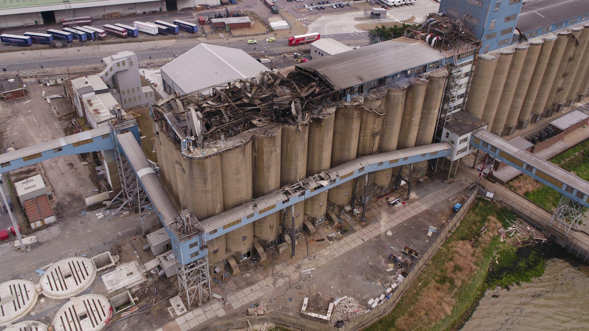 Port of Tilbury Grain Store Explosion